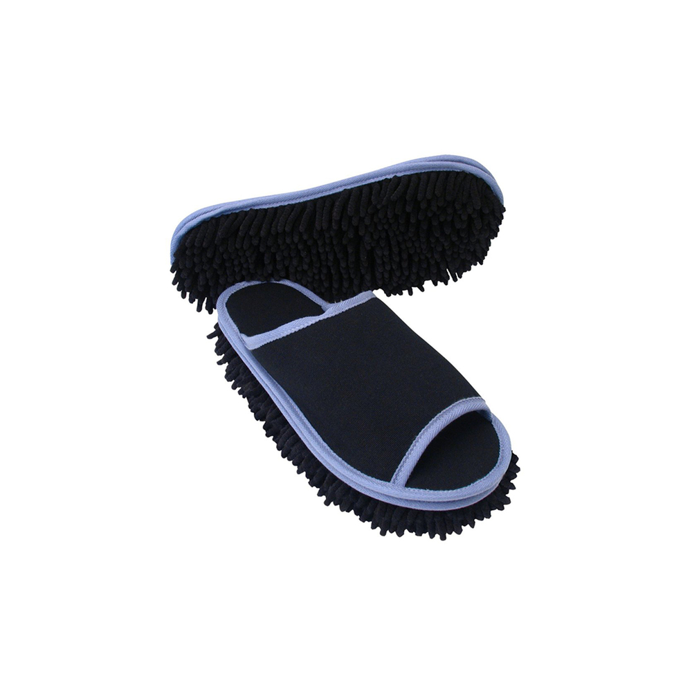 Your dainty roommate is always complaining about cold toes, so why not gift him with a handsome pair of dusting slippers? He'