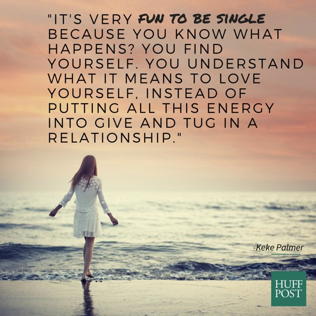 how to stay happy while single