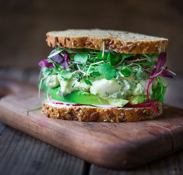 "<strong>Get the <a href=""http://www.feastingathome.com/green-goddess-egg-salad-with-avocado/"" target=""_blank"">Green Goddess E"