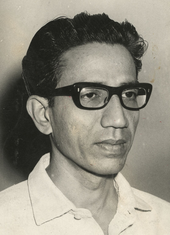 Bal Thackeray, popularly known as 'Balasaheb', was the founder and president of the Shiv Sena Party. Photograph taken in Bomb