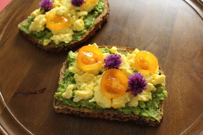 """""""Toast up some bread, add some avocado and eggs and enjoy! If you want to impress your family at 3 a.m. and make them think t"""