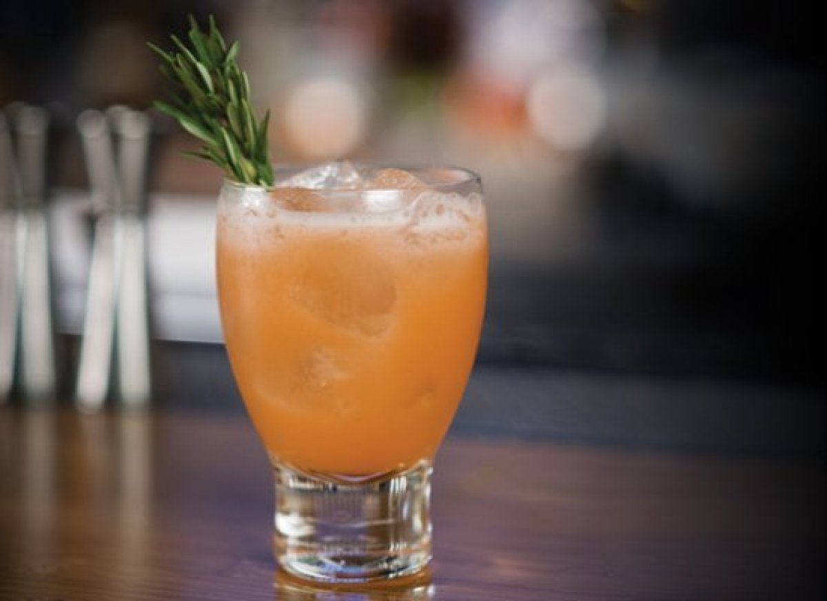 With fresh grapefruit juice and gin, the Greyhound is a nice daytime drink on its own, but why not try a different approach?
