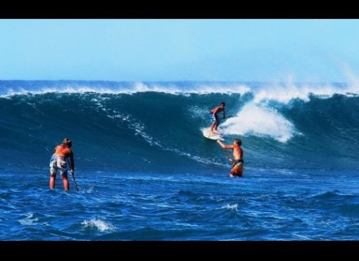 <strong>Best for: SUP and surfing</strong>  Cheapflights.com begins its quest for top non beach bum beaches in Hawaii. Sunset