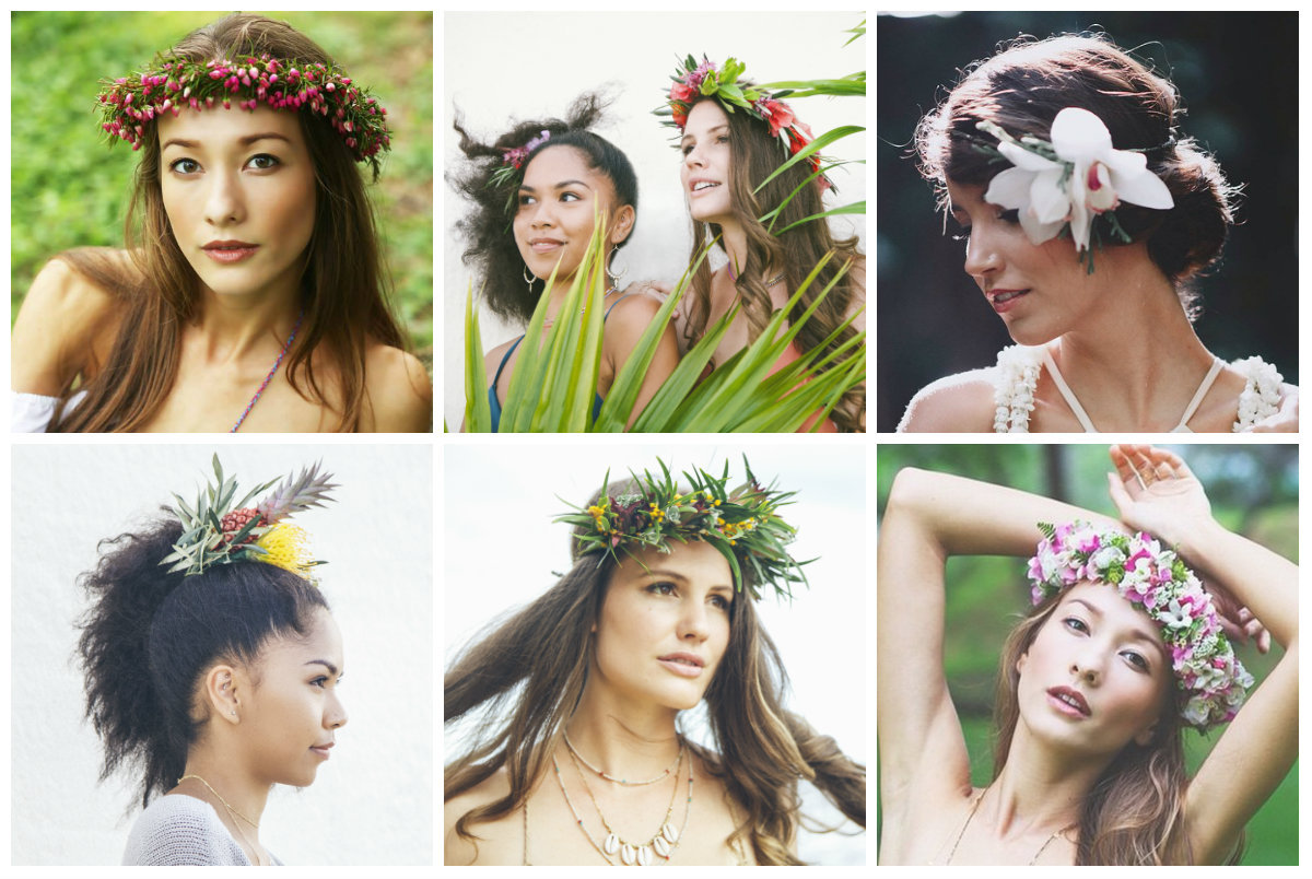How to make diy flower crowns because they arent just for brides maybe just a statement flower or a ponytail izmirmasajfo
