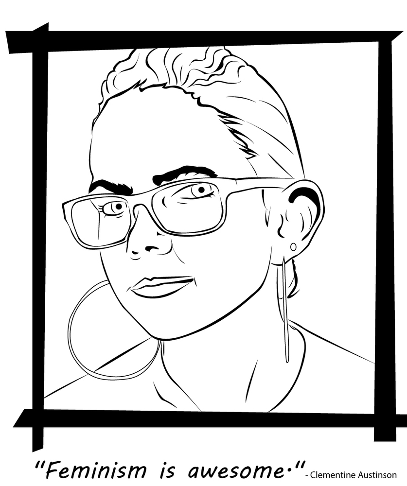 A Badass Feminist Coloring Book