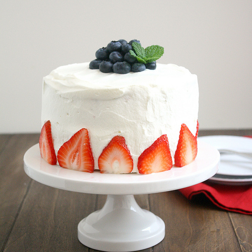 "<strong>Get the <a href=""http://www.traceysculinaryadventures.com/2012/06/red-white-and-blue-poke-cake.html#.Ucr60D7wKmt"" tar"