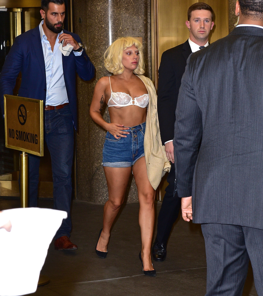 Seen leaving the Rainbow Room in New York City on June 23.