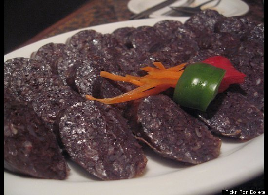 "Perhaps the most intimidating part about eating <a href=""http://www.wisegeek.com/what-is-blood-sausage.htm"" target=""_hplink"">"