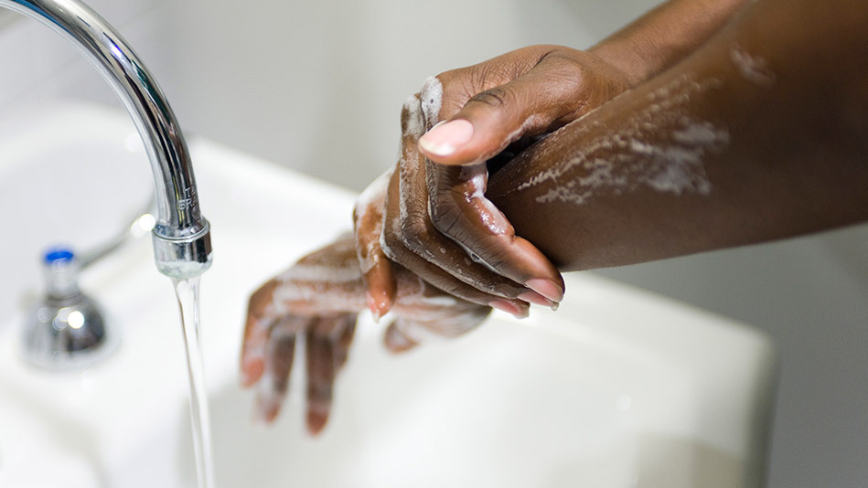 """""""I wash my hands immediately after a workout,"""" says Susan Stanley, a trainer at Equinox in New York. It's a good idea: Sixty-"""