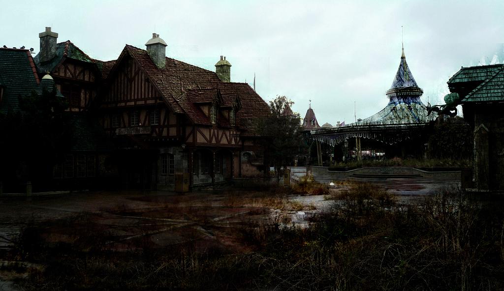 Abandoned disney world hotel