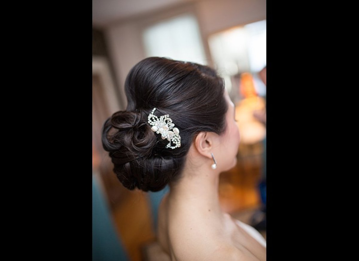 40 wedding updos that are beautiful from every angle huffpost beautiful wedding updo inspiration junglespirit Choice Image