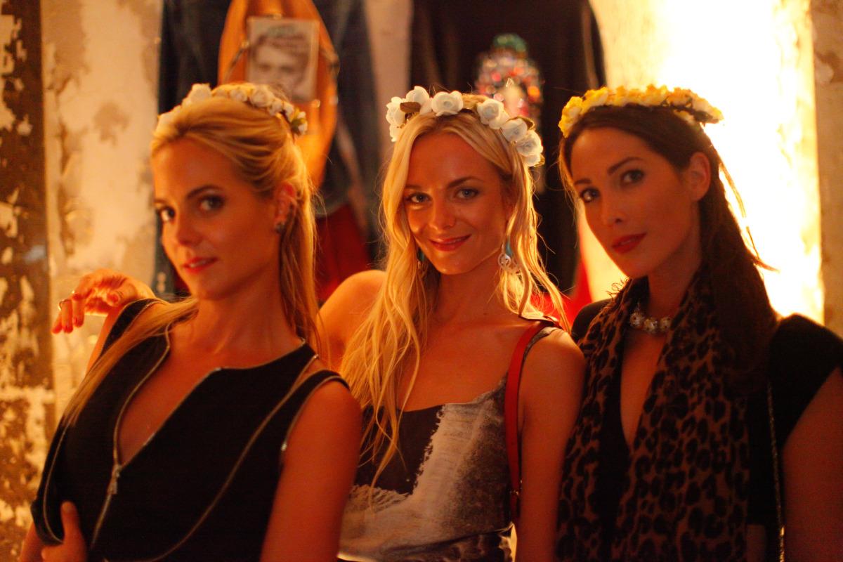At The Cools' New York Fashion Week Jamboree Dinner