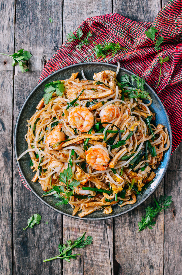 "<strong>Get the <a href=""http://thewoksoflife.com/2015/07/shrimp-pad-thai/"" target=""_blank"">Shrimp Pad Thai recipe</a> from T"