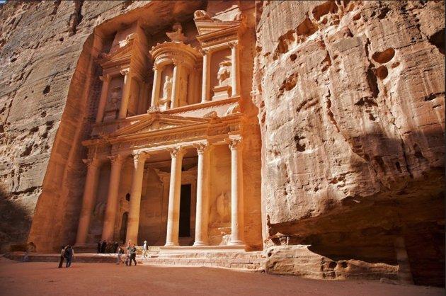 """La impresión que la mayoría de las personas tienen sobre Petra proviene de """"Indiana Jones"""", pero más allá de experimentar el"""