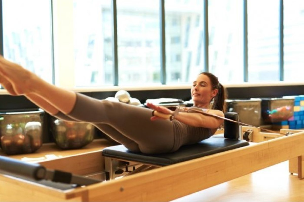 Pilates offers a full-body workout that builds strength and improves flexibility, making it an especially great option for th