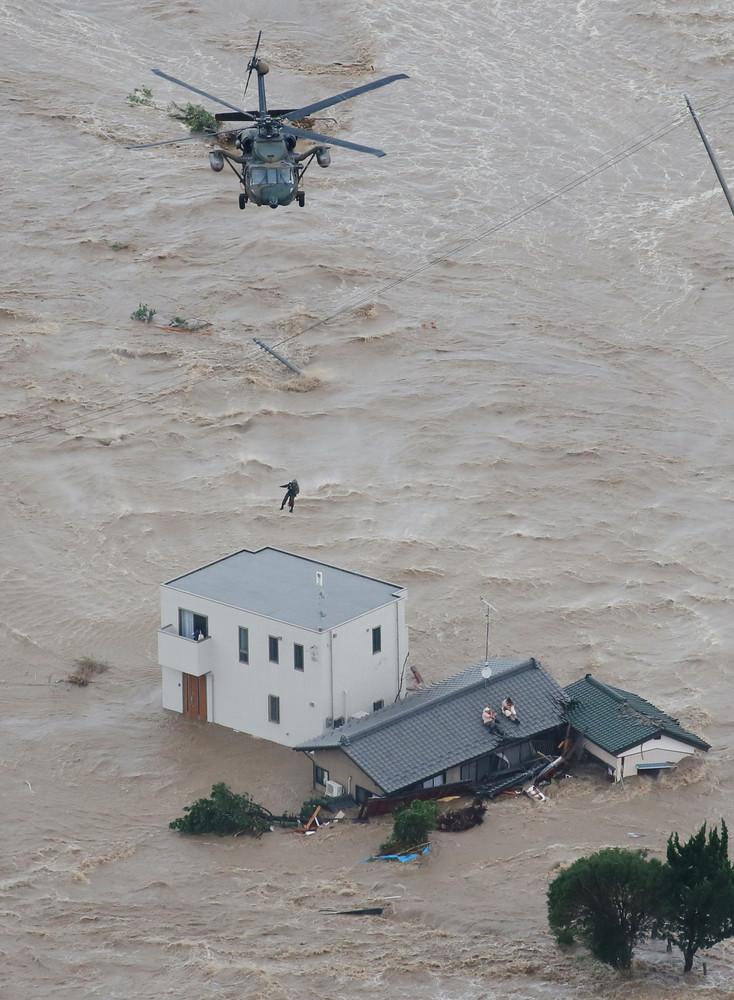 ヘーベルハウス、鬼怒川決壊に耐える 「家にいたほうが安心だよ」と言われていた