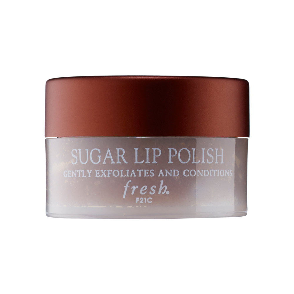 This is key. Whether it's a lip scrub or a DIY sugar scrub (with your choice of coconut oil or honey, of course), gentle exfo