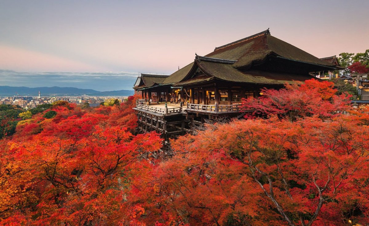 """<strong>See More of the <a href=""""http://www.travelandleisure.com/slideshows/best-temples-japan/8?xid=PS_huffpo"""">17 Stunning T"""