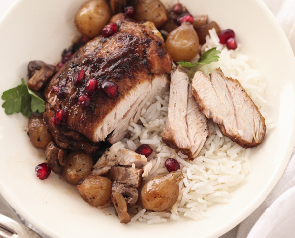 """<strong>Get the <a href=""""http://www.foodiecrush.com/2013/12/slow-cooker-balsamic-chicken/"""" target=""""_blank"""">Slow Cooker Balsam"""