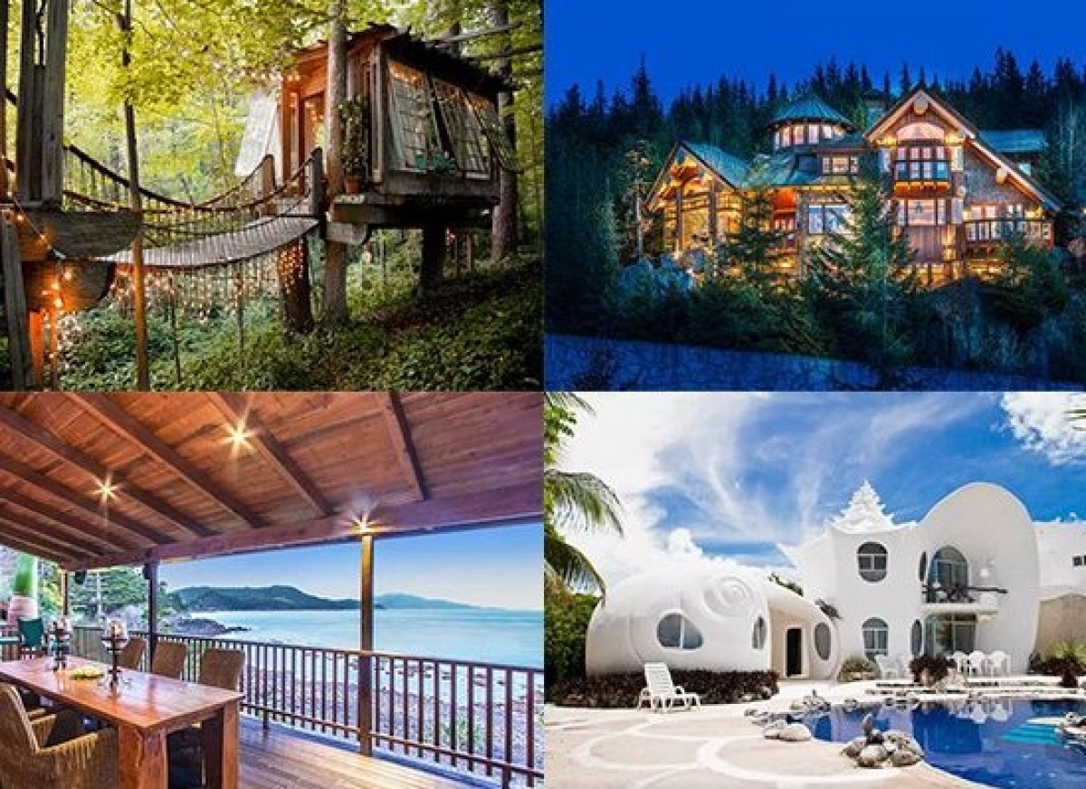 From a treehouse in the middle of Atlanta to a 4,000-square-foot pool property in Turks and Caicos, these are some of the wor