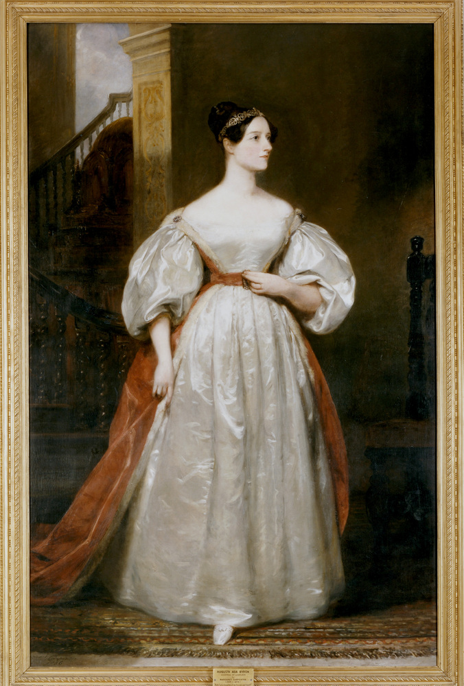 Countess Augusta Ada Lovelace (1815-1852), English mathematician and writer. The daughter of Byron and friend of Charles Babb