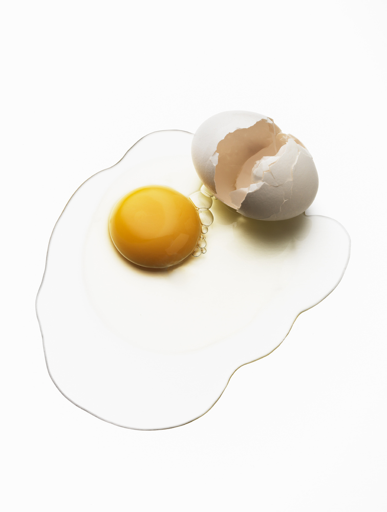 """Both egg whites and egg yolks are good sources of protein, says <a href=""""http://worthyandwell.com/about/"""" target=""""_blank"""">reg"""
