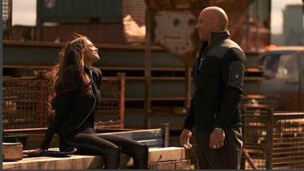 Deepika for all seasons. Seen here with Vin Diesel in a still from <em>xXX: Return of Xander Cage</em>