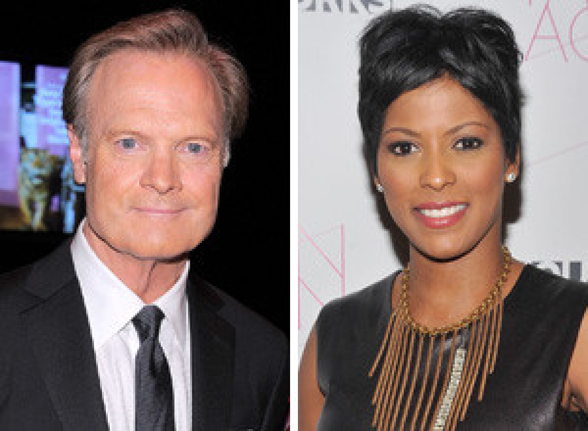 """Page 6 recently reported that MSNBC's Lawrence O'Donnell and Tamron Hall are kindling a relationship. They have been dating """""""