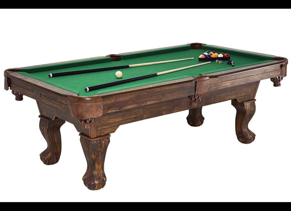 A Pool Table Sure Would Look Good In The Den Or The Basement, Wouldnu0027t It?  At Samu0027s Club, Billiards Tables Go For As Little As $450. The 7.5 Foot  Barrington ...