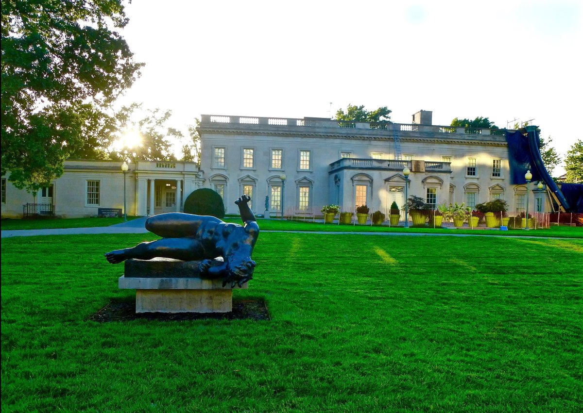 The grounds of the Virginia Museum of Fine Arts. (Dwight Brown)