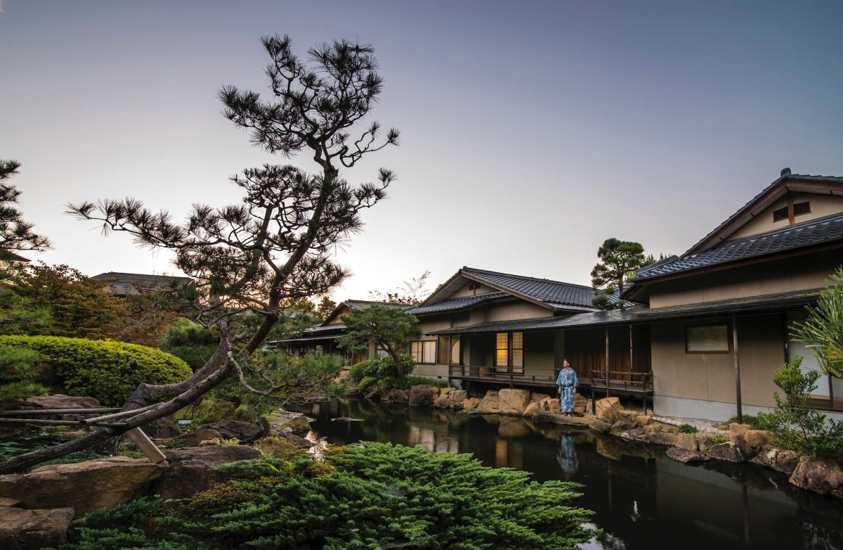 """A true luxury property that's hosted five emperors and countless members of the imperial family, <a href=""""http://www.ryokan.o"""