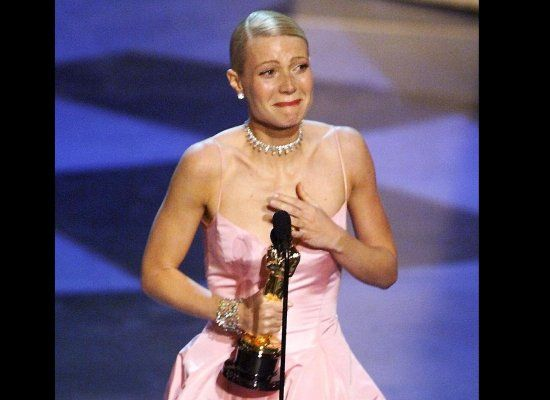 Gwyneth Paltrow gave one of the most blubbering, drawn-out speeches in memory when accepting the award for Best Actress for S