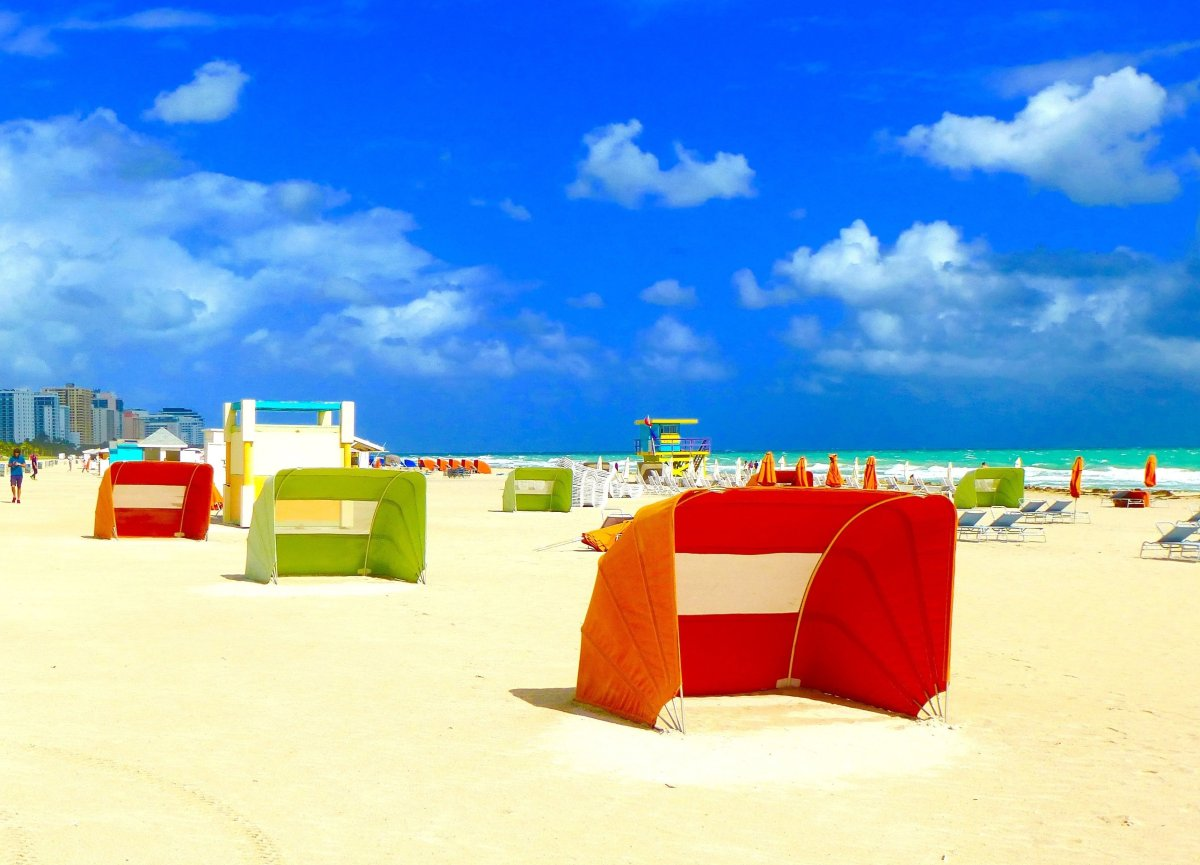 In Miami, midwinter, the sun shines, warm sea breezes envelope you and the 76-degree temp warms your body. (Dwight Brown)