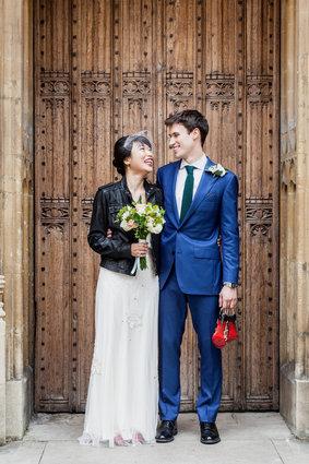 Chaqueta vestido boda