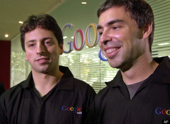 While computer science grad students at Stanford University in 1996, Larry Page and Sergey Brin kept busy working on their Ph