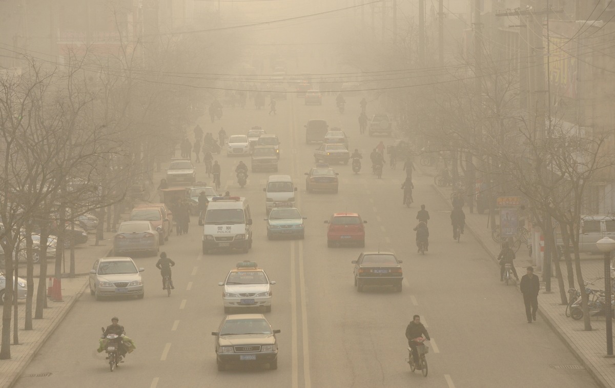 "Linfen, China is the most polluted city on earth. According to <a href="" http://www.thedailygreen.com/environmental-news/comm"