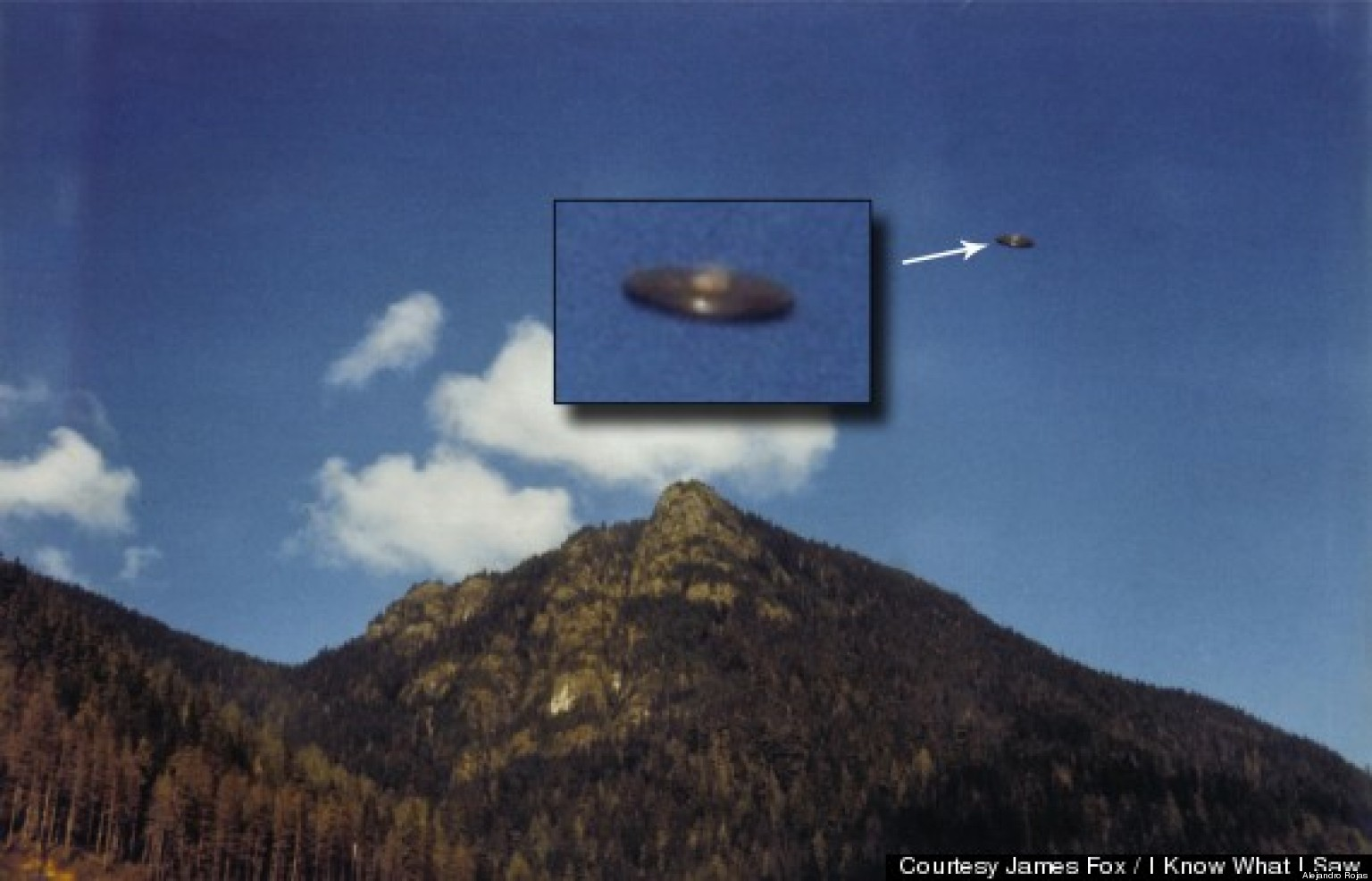 Alien Photo: James Fox To Announce $100,000 UFO Reward For Proof Of An