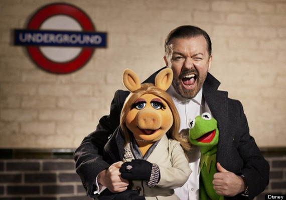 gervais muppets