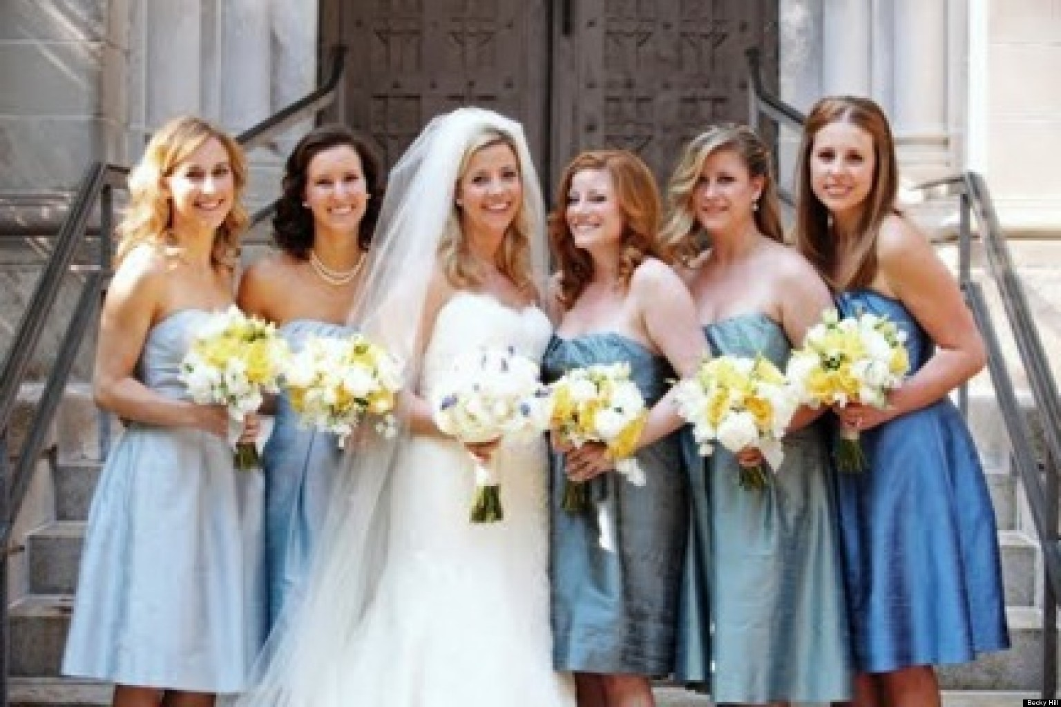Should you let your bridesmaids choose their own dresses huffpost ombrellifo Gallery