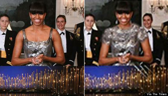 michelle obama photoshop iran