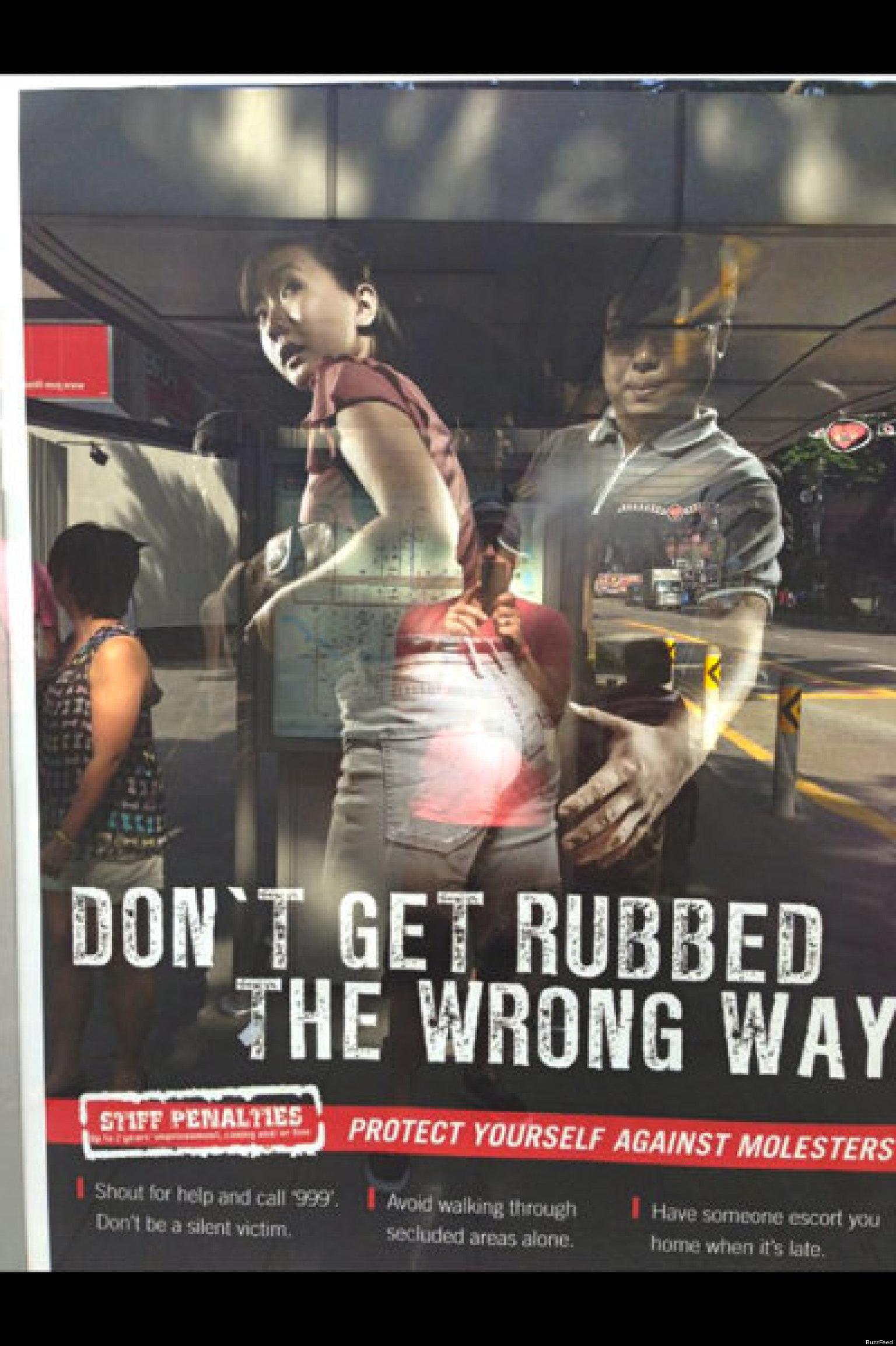 singapore anti-groping psa is seriously creepy | huffpost