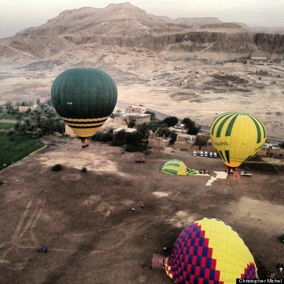 montgolfiere louxor