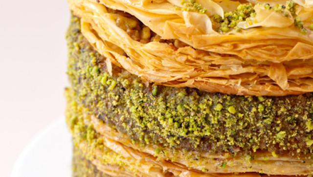 Eat This Pistachio Baklava Cake