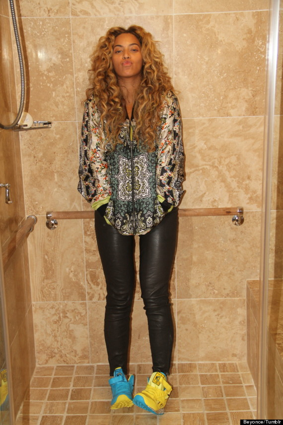 beyonce shower