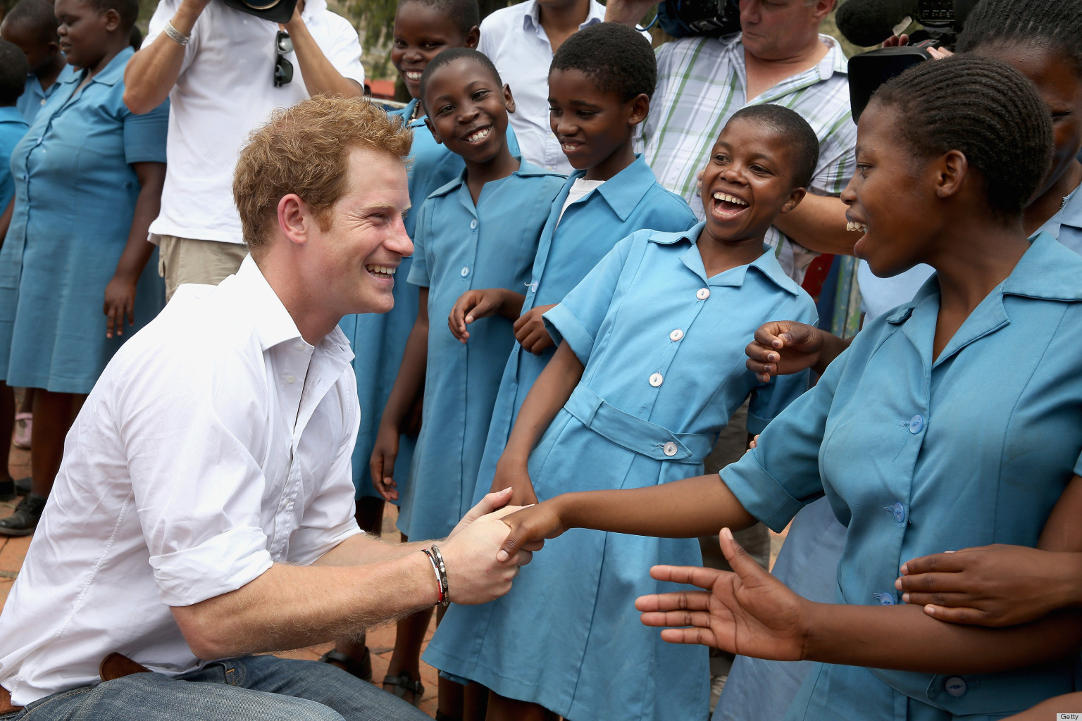 Prince Harry Checks In...