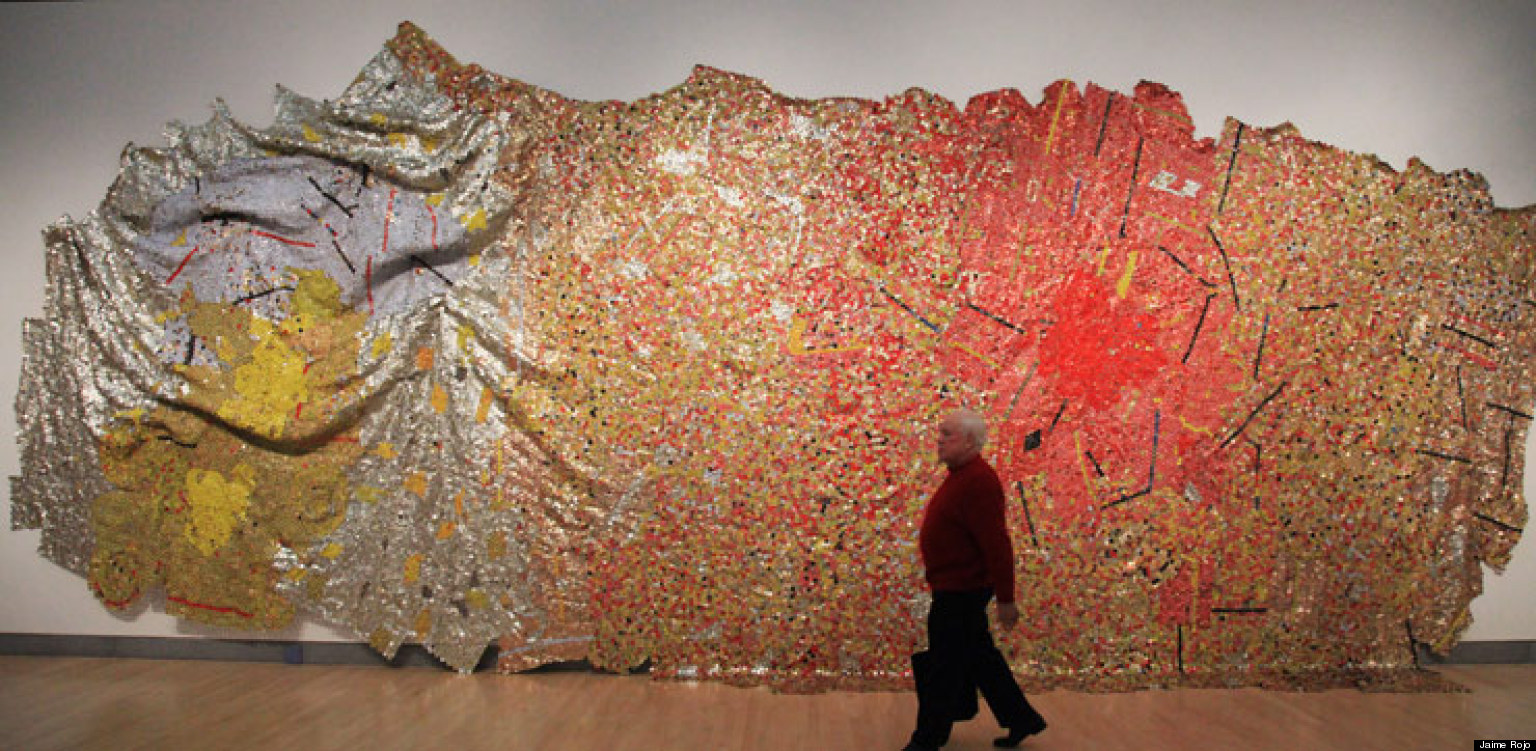 El Anatsui Shows Both Quot Gravity And Grace Quot In New York