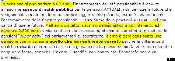 grillonomics beppe grillo pensioni