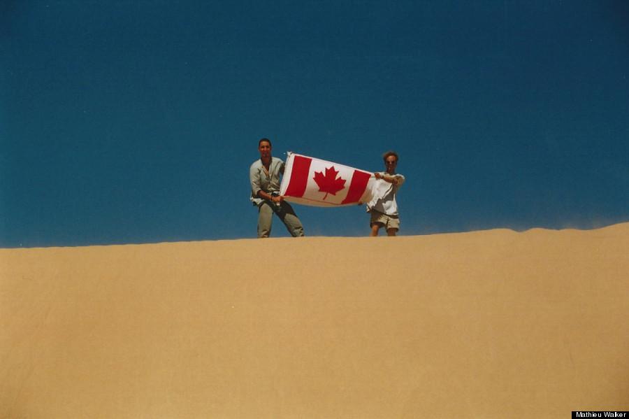justin trudeau sahara desert