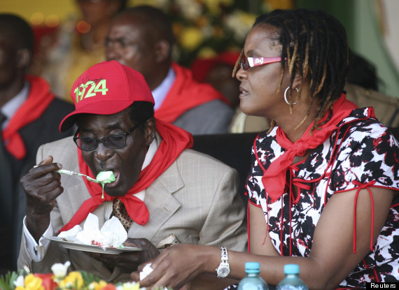 robert mugabe birthday party
