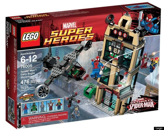 REVIEW: Lego Super Heroes 'Spider-Man: Daily Bugle Showdown ...